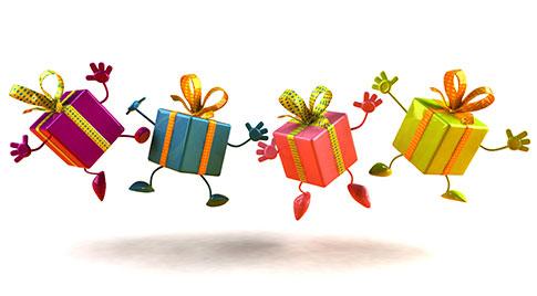 Подарки для наших покупателей !
