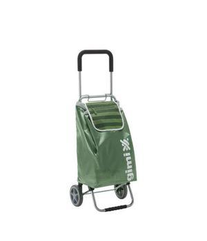 Сумка-тележка Gimi Flexi Зеленый металлик