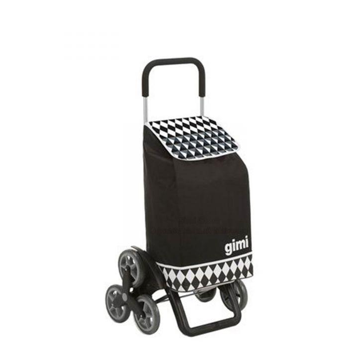 Сумка-тележка Gimi Tris Optical Черный