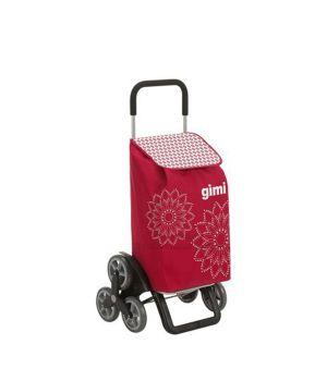 Сумка-тележка Gimi Tris Floral Красный