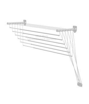 Сушилка для белья настенно-потолочная Gimi Lift 140 Белый